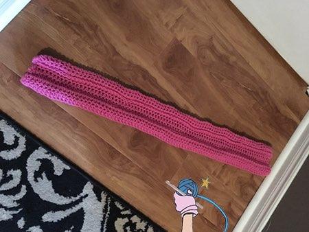Crochet Door Draft Dodger - Dearest Debi Pattern