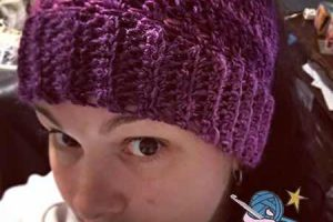 Crochet Unforgettable Messy Bun Ponytail Hat