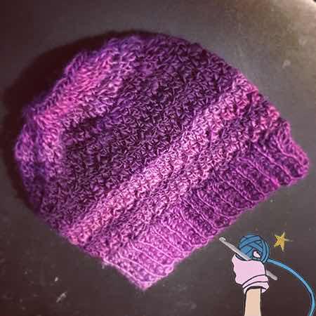 Crochet Unforgettable Messy Bun Ponytail Hat - Dearest Debi Patterns