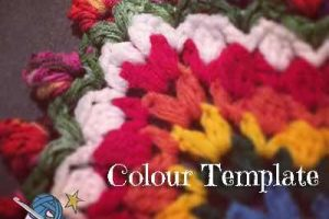 Garden Romp Crochet Along 2017 Colour Templates