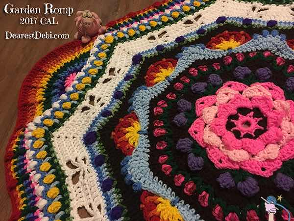 Garden Romp Crochet Along 2017 - Dearest Debi Patterns