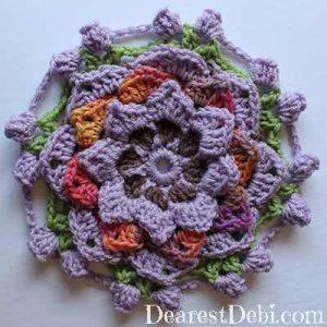 Garden Romp Round 13 - Dearest Debi Patterns