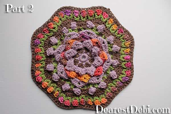 Garden Romp Crochet Along 2017 Part 2 - Dearest Debi Patterns