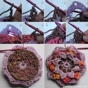Garden Romp Round 10 - Dearest Debi Patterns