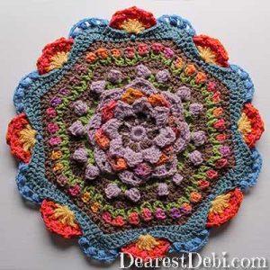 Garden Romp Round 25 - Dearest Debi Patterns