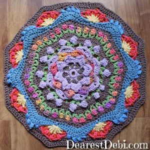 Garden Romp Round 27 - Dearest Debi Patterns