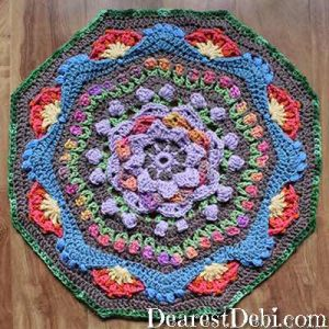 Garden Romp Round 28 - Dearest Debi Patterns