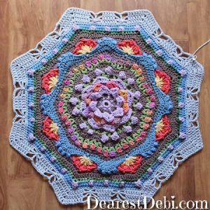 Garden Romp Round 35 - Dearest Debi Patterns
