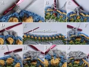 Garden Romp Round 42 - Dearest Debi Patterns
