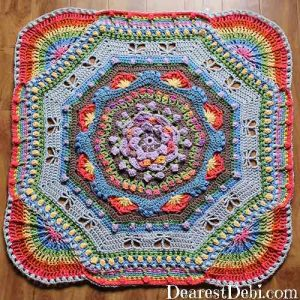 Garden Romp Round 50 - Dearest Debi Patterns
