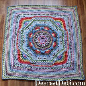 Garden Romp Round 76 - Dearest Debi Patterns