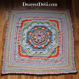 Garden Romp Round 80 - Dearest Debi Patterns