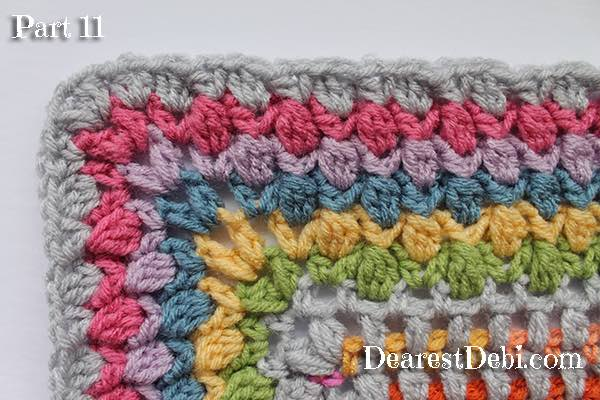 Garden Romp Crochet Along 2017 Part 11 - Dearest Debi Patterns