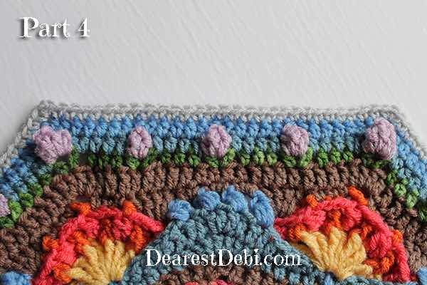 Garden Romp Crochet Along 2017 Part 4 - Dearest Debi Patterns