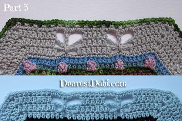 Garden Romp Crochet Along 2017 Part 5 - Dearest Debi Patterns