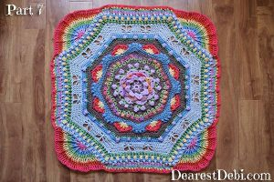 Garden Romp Crochet Along 2017 Part 7