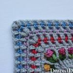 Garden Romp Crochet Along 2017 Part 9 - Dearest Debi Patterns