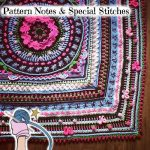 Girly Afghan CAL Pattern Notes & Special Stitches - Dearest Debi Patterns