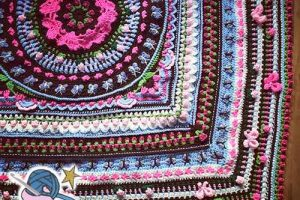 Girly Afghan CAL Pattern Notes and Special Stitches