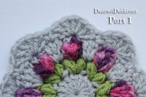 Girly Afghan CAL Mandala Part 1 - Dearest Debi Patterns
