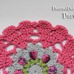 Girly Afghan CAL Mandala Part 2 - Dearest Debi Patterns