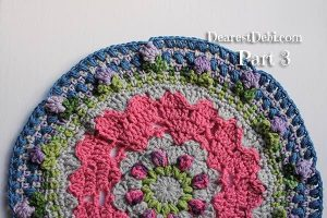 Girly Afghan CAL Manadala Part 3 - Dearest Debi Patterns