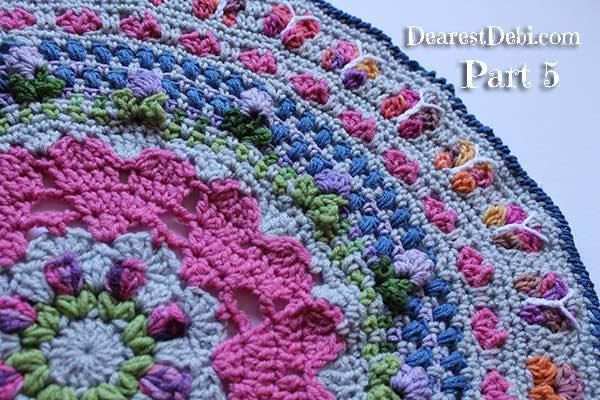 Girly Afghan CAL part 5 - Dearest Debi Patterns