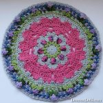 Girly Afghan CAL Mandala Part 3 - Dearest Debi Patterns