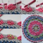 Girly Afghan CAL Mandala Part 4 - Dearest Debi Patterns