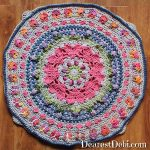 Girly Afghan CAL Mystery Corners - Dearest Debi Patterns