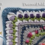 Girly Afghan CAL Afghan Part 1 - Dearest Debi Patterns