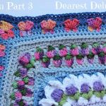 Girly Afghan CAL Afghan Part 3 - Dearest Debi Patterns