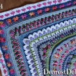 Girly Afghan CAL Afghan Part 4 - Dearest Debi Patterns