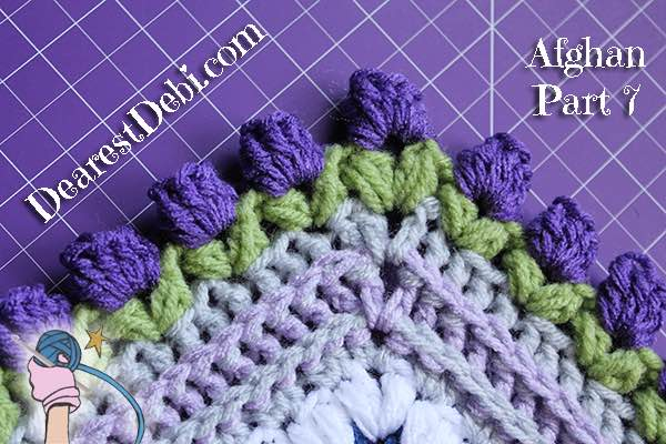 Girly Afghan CAL Afghan Part 7 - Dearest Debi Patterns