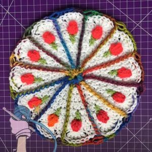 Carrot Cake Crochet Mandala - Dearest Debi Patterns