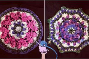 Crochet Afghan Puzzle Pieces - Dearest Debi Patterns