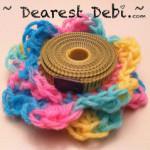Crochet Measuring Tape Flower - Dearest Debi Patterns