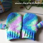 Little Hands Mittens Crochet - Dearest Debi Patterns