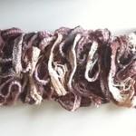 Crochet Priouette Ruffle Scarf - Dearest Debi Patterns
