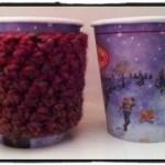 Stop Double Cupping. Crochet Coffee Cozy - Dearest Debi Patterns