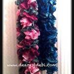 Sashay Ruffle Scarves - Dearest Debi Patterns