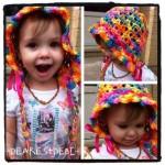 Star Flower Bonnet - Dearest Debi Patterns