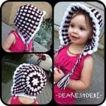 Sweet Belle Bonnet - Dearest Debi Patterns