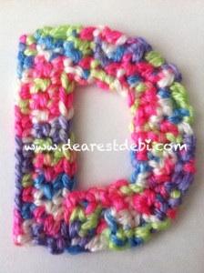 The letter D. D is for Debi... Dearest Debi Patterns