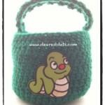 Crochet Boys Basket - Dearest Debi Patterns