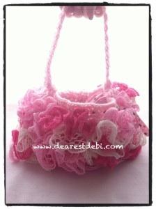 Crochet Ruffle Purse - Dearest Debi Patterns