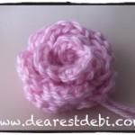 Crochet Rosette - Dearest Debi Patterns