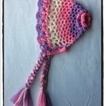 Crochet 3D Flower Bonnet Newborn - Dearest Debi Patterns