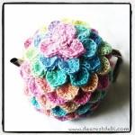 Crocodile Crochet Tea Cozy - Dearest Debi Patterns