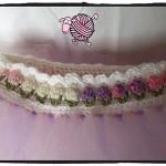 Crochet Flower Girl Tutu - Dearest Debi Patterns